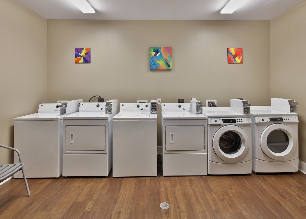 Apt New Building Laundry Room