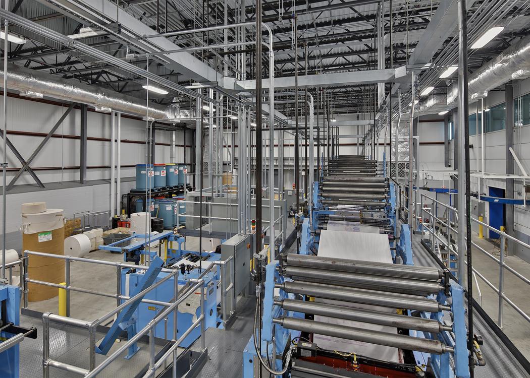 Winston-Salem Journal PressRoom_100 - Davie Construction